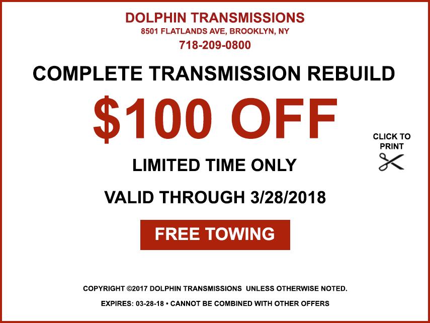 Complete transmission Rebuild